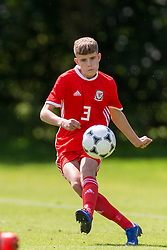 WREXHAM, WALES - Thursday, August 15, 2019: Wales' Rueben Evans during the UEFA Under-15's Development Tournament match between Wales and Northern Ireland at Colliers Park. (Pic by Paul Greenwood/Propaganda)