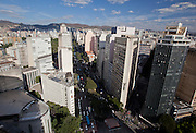 Belo Horizonte_MG, Brasil.<br /> <br /> Imagem panoramica do centro de Belo Horizonte, Minas Gerais. Detalhe para a Avenida Afonso Pena.<br /> <br /> Panoramic view of Belo Horizonte, Minas Gerais. In this photo Afonso Pena avenue.<br /> <br /> Foto: BRUNO MAGALHAES / NITRO