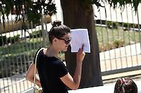 Geraldine Pillet - 17.06.2015 - Proces des paris sportifs du Handball - Montpellier<br /> Photo : Alexandre Dimou / Icon Sport