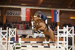 56 - Vrins Nick (BEL) - De Flor 111 Z<br /> BWP Hengstenkeuring 2014<br /> Zilveren Spoor Moorsele 2014<br /> © Dirk Caremans