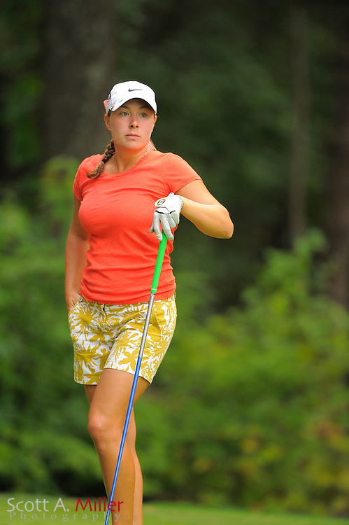 Calle Nielson during the Symetra Tour's Eagle Classic at the Richmond Country Club on August 18, 2012 in Richmond, Va...©2012 Scott A. Miller