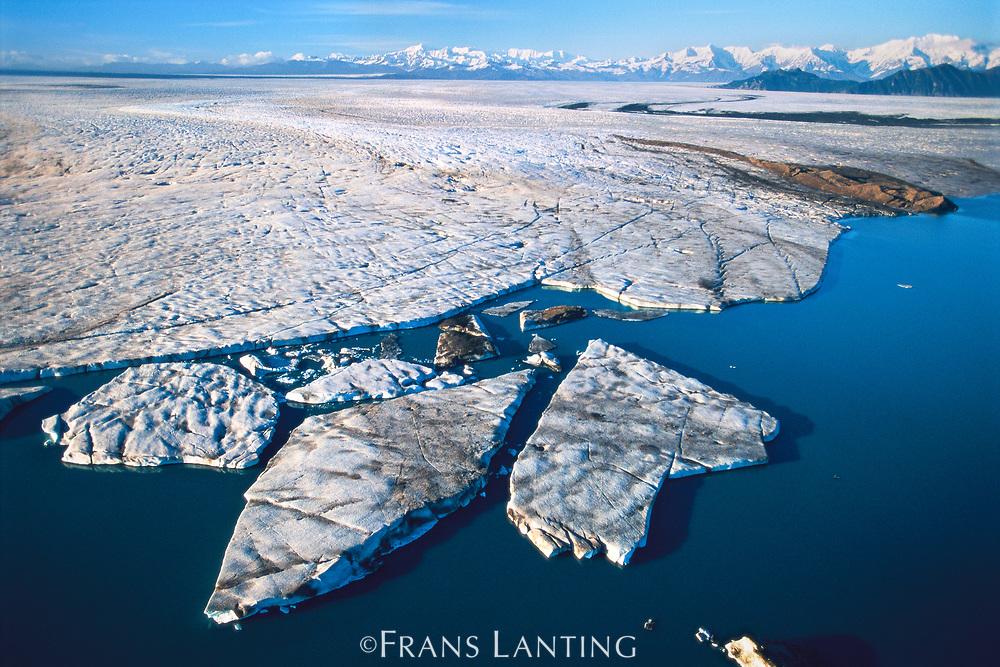 Bering Glacier, Wrangell-St. Elias National Park, Alaska, USA