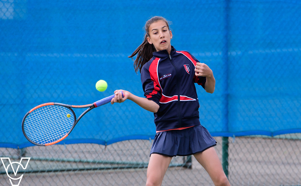 Aberdare Cup - Talbot Heath School B - Romana Bari<br /> <br /> Team Tennis Schools National Championships Finals 2017 held at Nottingham Tennis Centre.  <br /> <br /> Picture: Chris Vaughan Photography for the LTA<br /> Date: July 14, 2017