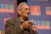 Internationally recognized painter and sculptor Frank Stella discusses the right of artists to retain interest in the resale of their work at the at the World Copyright Summit at the Ronald Reagan Center, Washington, DC, Tuesday, June 9, 2009.