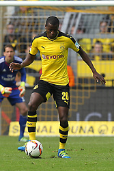 17.04.2016, Signal Iduna Park, Dortmund, GER, 1. FBL, Borussia Dortmund vs Hamburger SV, 30. Runde, im Bild Adrian Ramos (#20, Borussia Dortmund) // during the German Bundesliga 30th round match between Borussia Dortmund and Hamburger SV at the Signal Iduna Park in Dortmund, Germany on 2016/04/17. EXPA Pictures © 2016, PhotoCredit: EXPA/ Eibner-Pressefoto/ Deutzmann<br /> <br /> *****ATTENTION - OUT of GER*****