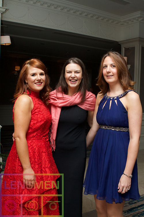 Kerri Kavanagh, Sara Dalzell and Isabella Hurney all of the Intercontinental Hotel, Ballsbridge.