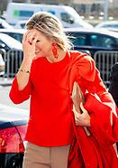 Koningin Máxima geeft startsein voor Week van het geld 2019