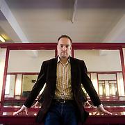 UK. Oxford. Illusionist and mind reader Derren Brown