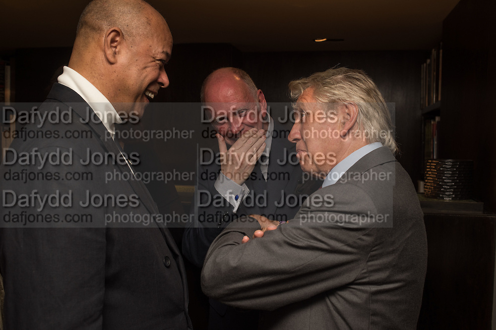 MARK HOLBORN; MICHAEL ROBERTS; DON MCCULIN, Don McCullin: Eighty. Hamiltons, Carlos Place, London. 24 September 2015.