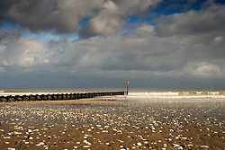 July 21, 2019 - Pier In The Sea, Yorkshire, England (Credit Image: © John Short/Design Pics via ZUMA Wire)