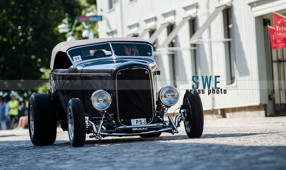 2018-07-06 | Lidk&ouml;ping, Sweden: Power Big Meet  at Lidk&ouml;ping City ( Photo by: Roger Johansson | Swe Press Photo )<br /> <br /> Keywords: Lidk&ouml;ping City, Lidk&ouml;ping, Power Big Meet, car, american cars