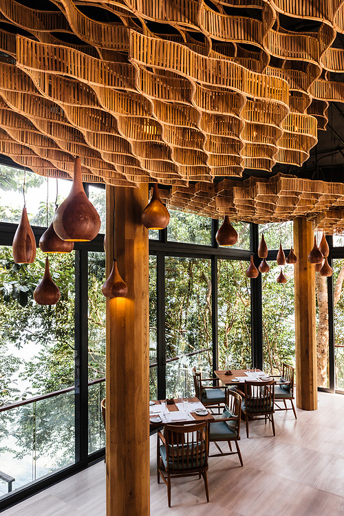 Dining room at Tree Restaurant