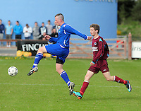 Ciaran Byrne Wicklow and Brian Gaffney Galway in Drom Galway in the Umbro Youths final. Photo: Andrew Downes