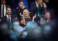 Oslo, 11-12-2016  <br /> <br /> King Harald, Queen Sonja, Crown Prince Haakon and Crown Princess Mette Marit are attending Nobel Peace Prize Concert with this years winner President Juan Manuel Santos and his wife Mar&iacute;a Clemencia Rodr&iacute;guez Munera<br /> <br /> <br /> Conan O'Brien, Sting, Juanes, Icona Pop,Highasakite and Marcus &amp; Martinus<br /> <br /> <br /> Photo:Juanes<br /> <br /> COPYRIGHT ROYALPORTRAITS EUROPE/ BERNARD RUEBSAMEN