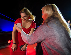 September 30, 2018 - Gabriela Dabrowski of Canada on the red carpet at the 2018 China Open WTA Premier Mandatory tennis tournament players party (Credit Image: © AFP7 via ZUMA Wire)