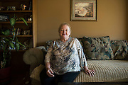 KENOSHA, WI-NOV. 10, 2016: Dianne Hegewald, 71, at her home in Kenosha County Thursday, Nov. 10, 2016. Lauren Justice for The New York Times