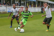 Forest Green Rovers Fabien Robert (26) on the ball during the Vanarama National League match between Dover Athletic and Forest Green Rovers at Crabble Athletic Ground, Dover, United Kingdom on 10 September 2016. Photo by Shane Healey.