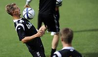 Fotball<br /> Norge<br /> 13.08.2012<br /> Foto: Morten Olsen, Digitalsport<br /> <br /> Trening Norge A foran landskampen mot Hellas<br /> <br /> Morten Gamst Pedersen
