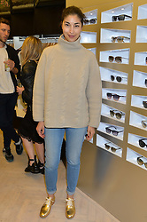 CAROLINE ISSA at the Prism Boutique Summer Party held at Prism, 54 Chiltern Street, London on 14th May 2014.