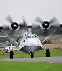 PBY Catalina,  IWM, The Duxford Air Show.  Sunday 14th September 2014