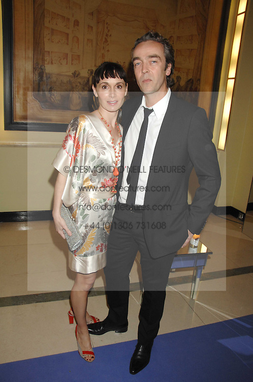 Actor JOHN HANNAH and his wife actress JOANNA ROTH at the 10th Anniversary Party of the Lavender Trust, Breast Cancer charity held at Claridge's, Brook Street, London on 1st May 2008.<br />