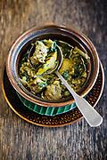 Samlor Kako (garden vegeatble soup with pork ribs) at Sugar Palm restaurant