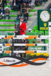 Alberto Michan Halbinger, (MEX), Carusso LS La Silla - Team & Individual Competition Jumping Speed - Alltech FEI World Equestrian Games™ 2014 - Normandy, France.<br /> © Hippo Foto Team - Leanjo De Koster<br /> 02-09-14