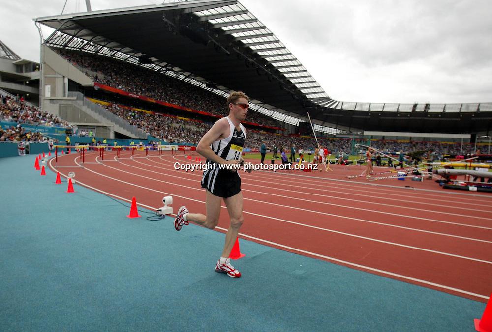 28th July, 2002. City of Manchester Stadium. Manchester. England. Men's Marathon.<br />Phil Costley. NZL.<br />Pic: Andrew Cornaga/Photosport