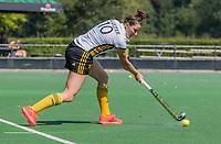 BLOEMENDAAL   -  Bente Sluijter (Vict) . oefenwedstrijd dames Bloemendaal-Victoria, te voorbereiding seizoen 2020-2021.   COPYRIGHT KOEN SUYK