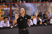 DESCRIZIONE : Ferentino LNP A2 2015-16 FMC Ferentino Acea Roma<br /> GIOCATORE : Guido Saibene<br /> CATEGORIA : allenatore coach esultanza<br /> SQUADRA : Acea Roma<br /> EVENTO : Campionato LNP A2 2015-2016<br /> GARA : FMC Ferentino Acea Roma<br /> DATA : 11/10/2015<br /> SPORT : Pallacanestro <br /> AUTORE : Agenzia Ciamillo-Castoria/G.Masi<br /> Galleria : LNP A2 2015-2016<br /> Fotonotizia : Ferentino LNP A2 2015-16 FMC Ferentino Acea Roma