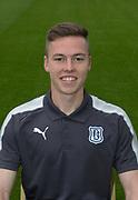Aug 1st 2017, Dens Park, Dundee, Scotland; Dundee team shoot; Dundee FC fitness coach Blair Doughty