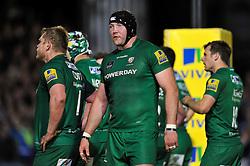 George Skivington of London Irish - Photo mandatory by-line: Patrick Khachfe/JMP - Mobile: 07966 386802 24/04/2015 - SPORT - RUGBY UNION - Bath - The Recreation Ground - Bath Rugby v London Irish - Aviva Premiership