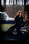John Mellencamp photo shoot on Friday January 19 , 2007 in Bloomington, Indiana. ©Mark Cornelison