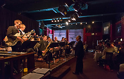 PLU Jazz Ensemble at Tula's Jazz Club in Seattle on Sunday, May 3, 2015. (Photo: John Froschauer/PLU)