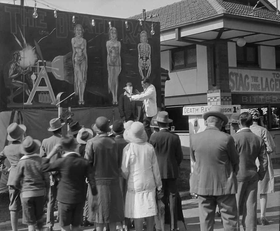 """The Death Ray"", Royal Agricultural Show, Sydney, Australia, 1930"
