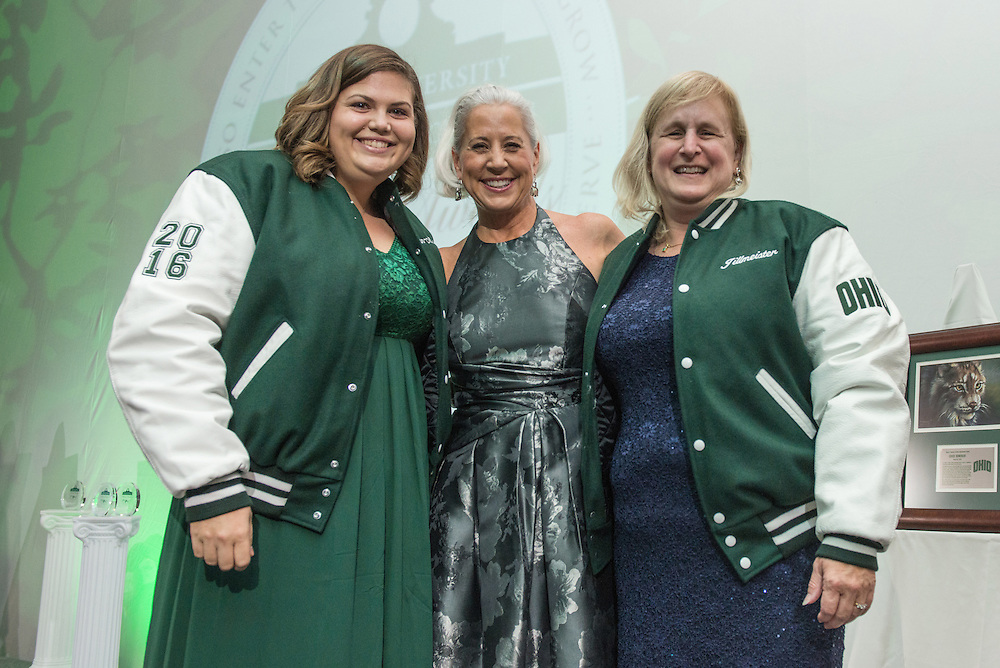 The 2016 Alumni Awards Gala was held at Ohio University's Baker Center Ballroom on Friday, October 07, 2016.