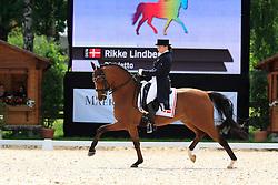 Lindberg Rikke (DEN) - Rigoletto<br /> FEI European Dressage Championship Young Riders - Bern 2012<br /> © Hippo Foto - Leanjo de Koster