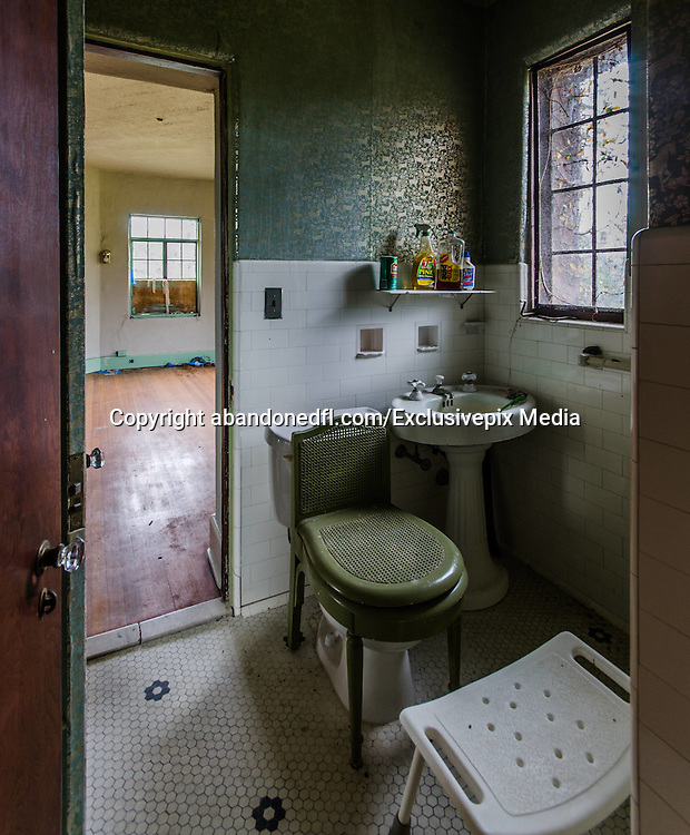 """Abandoned Howey Mansion<br /><br />William John Howey was born on January 19, 1876 in Odin, Illinois. He began selling insurance at 16-years-old and by 1900 began developing land and towns for the railroad in Oklahoma. He opened the Howey Motor Car Company in Kansas City in 1903, and after making seven Howey Cars, closed his business. At age 31, he bought a large tract of land in Mexico and tried his hand at selling pineapple plantations, but the Mexican Revolution forced him out.<br /><br />It was in 1908 when Howey found himself in Winter Haven, Florida where he perfected his citrus farming and sales program techniques. He believed that if he took raw land and controlled its development into mature citrus groves, he could guarantee investors a successful enterprise while making a profit on each step of citrus cultivation. In 1914, he began buying land for $8 to $10 per acre and later sold them at $800 to $2000 per acre, cleared and planted with 48 citrus trees per acre. Howey also offered a no-risk guarantee: if the buyer signed up for Howey's company to maintain the land as well but the land didn't turn a profit with a set amount of time, he would buy back the land for the original cost plus interest. Buyers flocked to the town, many considering him Florida's greatest citrus developer. In 1917, he built the """"Bougainvillea"""", a two-story frame boarding house across from the future site of the Howey Mansion, to house the visiting investors. By 1920, he had amassed nearly 60,000 raw acres for his """"City Inevitable,"""" but the Bougainvillea burned to the ground that year. He set up temporary housing in """"Tent City"""" on the same location and opened the Floridan Hotel at the south end of town in 1924, and it soon became the social hub of the community. The Floridan Hotel would later become a victim to """"the bomb"""", an economic boom that occurred in parts of Florida where movie production companies would pay cities to blow up buildings for their movies; it was blown up in 199"""