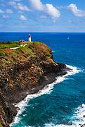 Kilauea Point Lighthouse, Kilauea National Wildlife Refuge, Island of Kauai, Hawaii USA