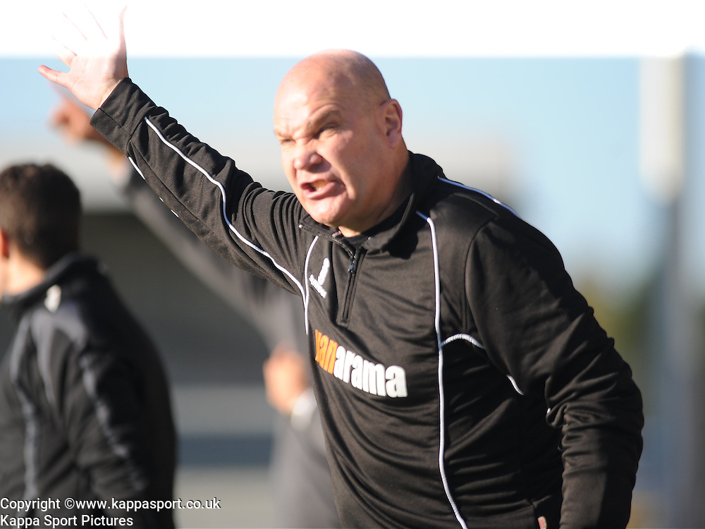 Richard Hill ,manager Eastleigh, Barnet v Eastleigh, Vanarama Conference, Saturday 4th October 2014
