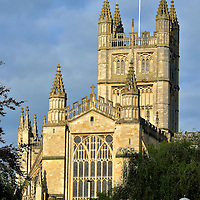 Bell Tower of Bath Abbey in Bath, England<br />
