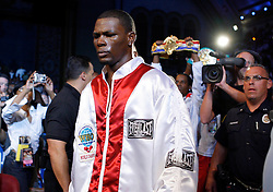 September 29, 2007; Atlantic City, NJ, USA; Undisputed Middleweight Champion Jermain Taylor during his bout against Kelly Pavlik at Boardwalk Hall in Atlantic City, New Jersey.