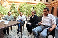 20130923 CONFERENZA STAMPA GRILLINI SALA BORSA