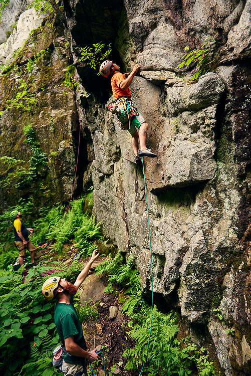 North Baldcap Mountain - Rock climbing  Success New Hampshire