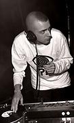 Dave Haslam DJing, Hacienda Club, Manchester, circa 1989