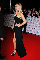 Tess Daly at the National Television Awards held in London on Wednesday, 25th January 2012. Photo by: i-Images