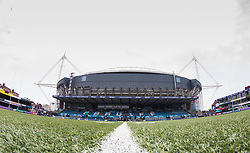 A general view of Cardiff Arms Park, home of Cardiff Blues<br /> <br /> Photographer Simon King/Replay Images<br /> <br /> European Rugby Challenge Cup - Semi Final - Cardiff Blues v Pau - Saturday 21st April 2018 - Cardiff Arms Park - Cardiff<br /> <br /> World Copyright © Replay Images . All rights reserved. info@replayimages.co.uk - http://replayimages.co.uk