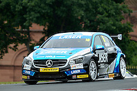 #16 Aiden Moffat GBR Laser Tools Racing Mercedes Benz A-Class  during first practice for the BTCC Oulton Park 4th-5th June 2016 at Oulton Park, Little Budworth, Cheshire, United Kingdom. June 04 2016. World Copyright Peter Taylor/PSP.