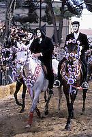 Italie, Sardaigne, Oristano, La Sartiglia, Carnaval // Italy, Sardinia, Oristano, carnival la Sartiglia