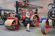 Europe, Germany, North Rhine-Westphalia, Ruhr area, Bochum, the largest festival in Germany for historical steam engines, steam rollers, steam-driven vehicles and maschines at the LWL industry museum Hannover colliery.....Europa, Deutschland, Nordrhein-Westfalen, Ruhrgebiet, Bochum, groesstes Dampffestival in Deutschland fuer historische Dampfmaschinen, Dampfwalzen, dampfgetriebene Fahrzeuge und Maschinen auf dem Gelaende des LWL-Industriemuseum Zeche Hannover.....[For each usage of my images the General Terms and Conditions are mandatory.]
